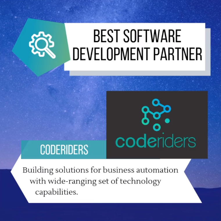 CodeRiders honored as Best Software Development company in Armenia