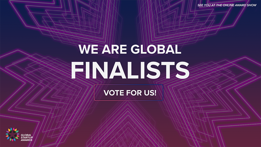 """CodeRiders is nominated in the category of """"People's Choice – Startup"""""""