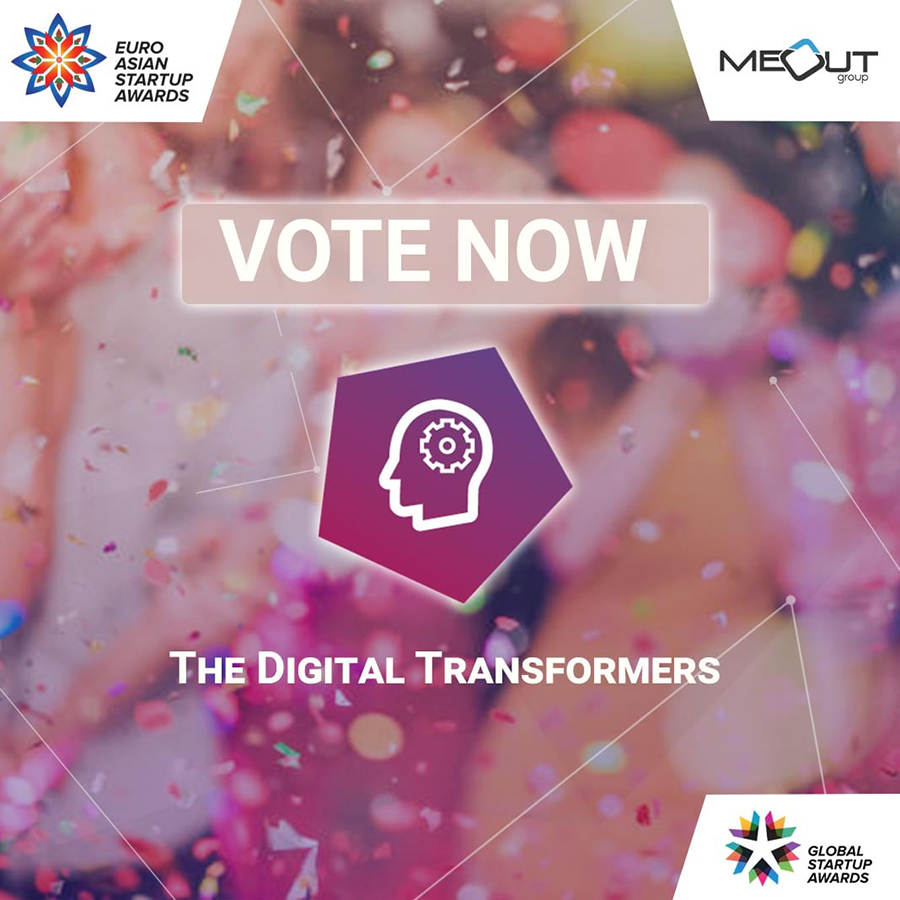 EuroAsian Startup Awards nominated CodeRiders in the category of Best Digital Transformers