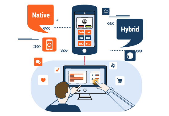 Choose Hybrid mobile app development over Native
